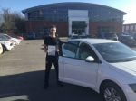 A great first time pass for James following a two week intensive course!!